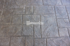 Bomanite Imprint Systems allow for design possibilities not found with other textured paving options and the Bomacron Medium Ashlar Slate pattern that is featured here has an English slate texture that adds beautiful detail to the Tanger Outlets Fort Worth hardscape and will result in long lasting paving and flooring with minimal maintenance requirements.