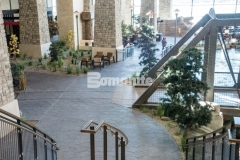 Our associate, Colorado Hardscapes, installed this Bomacron Small Random Slate imprinted concrete at the Gaylord Rockies Resort & Convention Center and earned the Bomanite Imprint Systems 2018 Silver Award for their skillful installation that was carefully placed, impression by impression, to assure a deliberate, repetitive, and natural looking result.