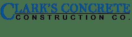 Clark's Concrete Construction
